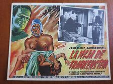 FRANKENSTEIN'S DAUGHTER (1958) Original Mexican Lobby Card Cult Horror