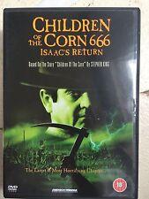 Children of the Corn 666 DVD 1999 Isaac's Return Cult Horror Film Movie