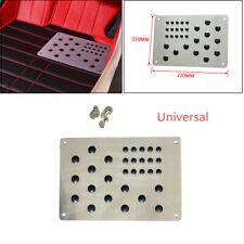 Universal Truck Car Floor Carpet Mat Patch Foot Heel Plate Pedal Aluminum Pad