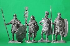 Tin toy romans figures soldiers 54 mm exclusive collection