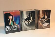 The James Bond Collection DVD Box Sets Lot of 3 Box Sets