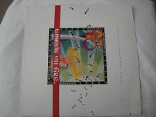 """SIOUXSIE AND THE BANSHEES WHEELS ON FIRE 12"""" MAXI SINGLE VINYL 45 RPM 1987 EX"""