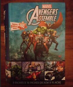 Marvel Avengers Assemble Jigsaw Puzzle 160 Piece Thor Hulk Black Widow Iron Man