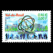 France 2001 - Tourism Sculture Art - Sc 2838 MNH