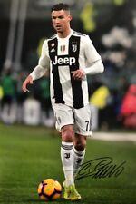 Juventus Cristiano Ronaldo Original Hand Signed Photo 30x20cm With COA.