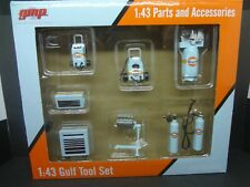 Gmp 1:43 Scale Gulf Racing Tool Set Parts and Accessories 1:43 Scale