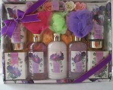 Brooks & Waters Gift Set, Body Wash, Body Lotion, Bath Sponges, Scented Roses