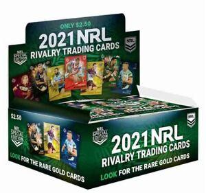 2021 TLA NRL Rivalry Sealed Trading Card Box