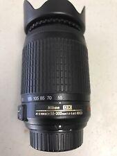 Nikon Nikkor 55-200mm f/4.0-5.6 AF-S DX ED VR Lens - Black