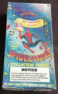 1992 Comic Images Spider-Man II Trading Cards Factory Sealed Wax Box