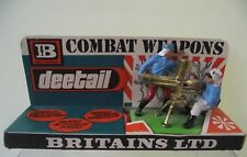Britains Deetail French Foreign Legion Gatling Gun On Shop Trade Box Header Card