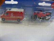 Siku MB Sprinter Sapeurs Pompiers FW Frankreich + Motorrad 1656