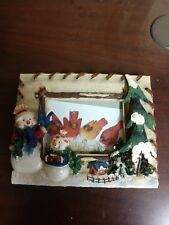 Home Interiors Snowman Picture Frame