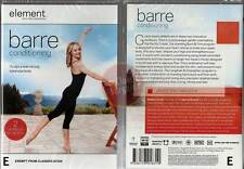 Element: Barre Conditioning * NEW DVD * sculpt lean strong balanced body workout
