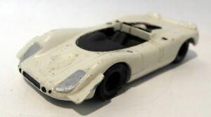 Unbranded 1/43 scale white metal - 23N16N Porsche 908 Spyder Le Mans car UNBOXED