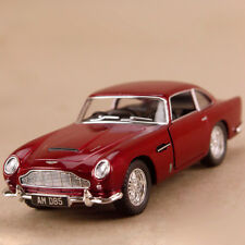 1963 Aston Martin DB5 Red 1:38 12.5cm Die Cast Pull Back James Bond Model Car