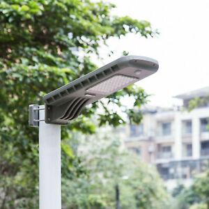 SolarV® LED All-IN-ONE Straßenleuchte Gartenlampe Solarlicht mit Bewegungsmelder