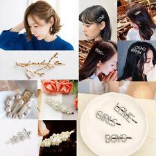 2 Haarspange Haardnadeln Blumen Strass Kristall Haarklemmen Schnell Versand!!