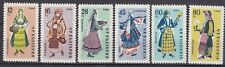 BULGARIA 1961 ** MNH SC # 1130 - 1135 Regional Costumes