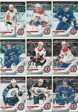 "2019 Upper Deck  NHL National Hockey Card Day (Canada) Complete ""17 Card Set """