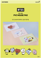 BT21 Baby Mouse Pad LineFriend Kpop Official Three Types