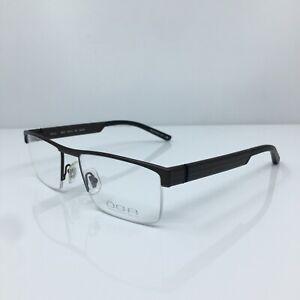 New OGA 76570 Eyeglasses Rx Frames C. MM092 Brown Size 53-18mm Made in France