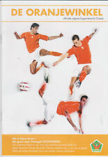 Official Merchandise Catalogue Holland National Team 2004