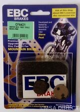 Hayes MX 2 / MX 3 / MX 4 Mechanical EBC Resin Mountain Bike Brake Pads (CFA421)