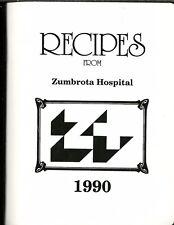 ZUMBROTA, MINNESOTA COOKBOOK - ZUMBROTA HOSPITAL RECIPES - 1990 - GREAT!!