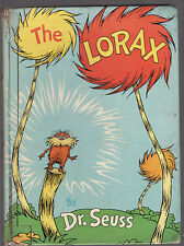 THE LORAX - DR. SEUSS   FIRST EDITION    scarce
