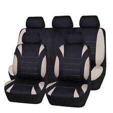 Carpass Waterproof Black Beige Gray Breathable Universal Full Set Car Seat Cover