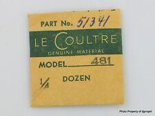 Jaeger LeCoultre Shock Spring Cal. 478
