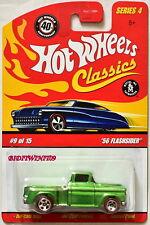 Hot Wheels Serie Classica 1.2m56 Flashsider 9/15 Verde W+