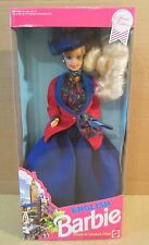 English Barbie Dolls Of World Collection Dressed For Horseback Riding New In Box