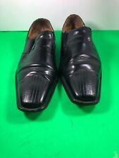 Crocket & Jones Leather Black Dress Shoes Size 8.5