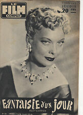 french magazine FILM COMPLET N°562 suzy carrier olivia de havilland 1956