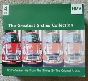 Various: The Greatest Sixties Collection 4 CD Box Set ON SALE!