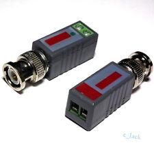 1Pair (2Pcs) CCTV Passive Video Balun UTP Transivers BNC CAT5 CABLE CONNECTORS