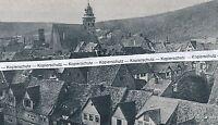 Münden an der Weser - Stadtansicht  - um 1925 - selten!       M 23-9
