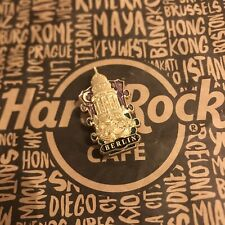 Hard Rock Cafe HRC BERLIN 50TH ANNIVERSARY GLOBAL HEADSTOCK Pin Limited