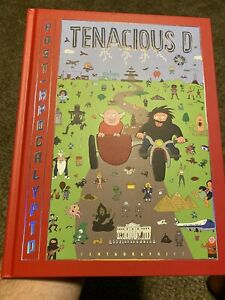 Post Apocalypto Tenacious D Book-Autographed By Kyle Gass And Jack Black W/ COA!