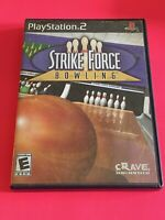 🔥 SONY PS2 PlayStation Two 💯 COMPLETE WORKING GAME 🔥STRIKE FORCE BOWLING