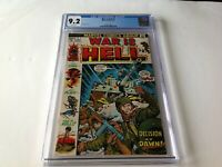 WAR IS HELL 1 CGC 9.2 WHITE PAGES DECISION AT DAWN! MARVEL COMICS