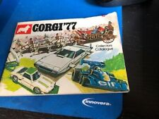 CORGI '77 COLLECTORS CATALOG