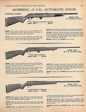 1969 MOSSBERG 352K, 350-K, 351-K .22 Automatic Rifle AD