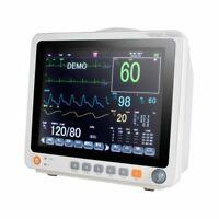 12.1'' Portable Medical Patient Monitor ICU Vital Signs SpO2/PR/NIBP/ECG/RESP CE