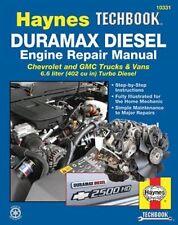 Duramax Diesel Engine Repair Haynes Manual Chrevrolet GMC Trucks Vans 6.6 Liter