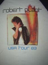 Vintage Concert T-Shirt ROBERT PLANT 83 LED ZEPPELIN NEVER WORN  NEVER WASHED