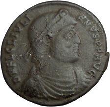 JULIAN II Apostate 361AD  AE1 Large RARE Ancient Roman Coin BULL Taurus  i33466