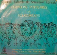 CHORAL SCOUTISME FRANÇAIS/GOUGE cadet rousselle EP VG++